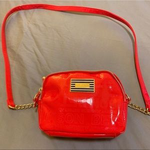 Red Betsey Johnson Purse